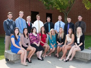 Congratulations to the 2012 Homecoming Court