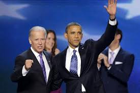President Obama and Vice President Biden accept the 2012 nominations at the DNC in Charlotte, NC.