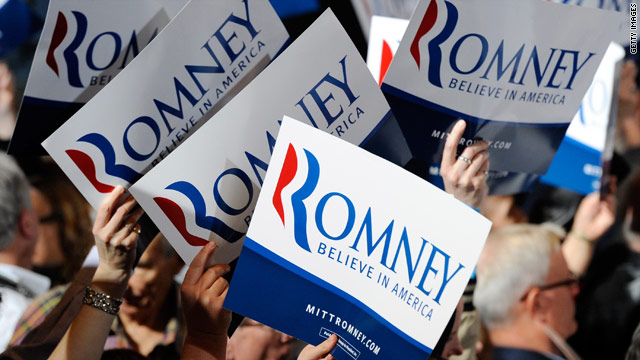 Romney Accepts Nomination for Republican Party