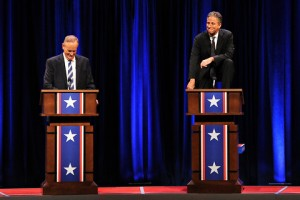 Bill O'Reilly and Jon Stewart Face Off at GWU