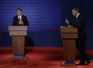 Romney and Obama Clash in Denver