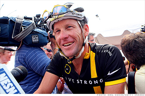 Armstrong Steps Down from Livestrong; Loses Sponsors