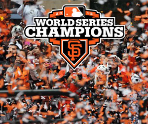 Giants Sweep Tigers in the World Series
