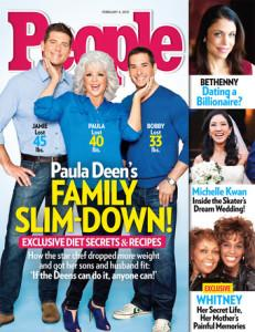 Paula Deen and Family Begin Weight Loss Commitment