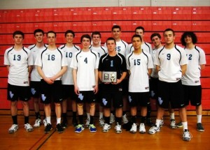 Boys Volleyball Just Short of Win in Meadville Tournament