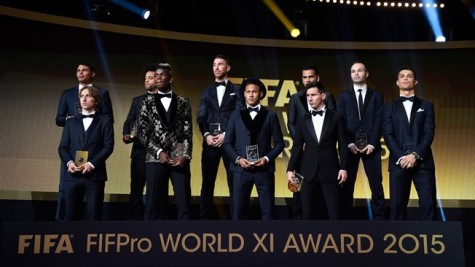 FIFA hands out year end awards including Ballon d'Or
