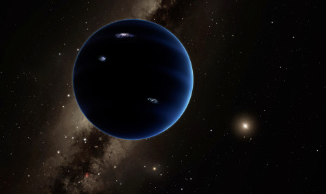 Earth's solar system may have a new planet