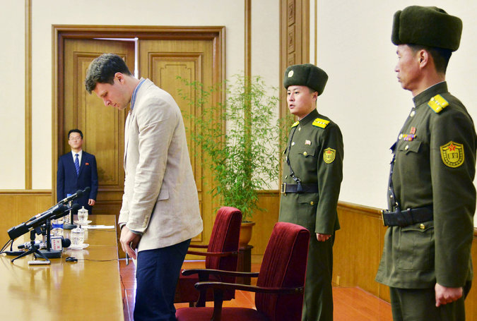 US student detained in North Korea speaks out