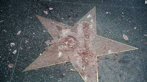Donald Trump's Hollywood Star is Vandalized