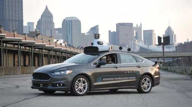 First Self-Driving Uber Cars on the Streets in Pittsburgh