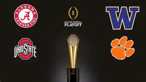 Final College Football Playoff Set After a Week of Conference Championships