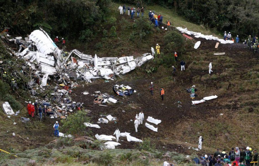 Plane transporting Brazilian soccer team crashes, killing 71