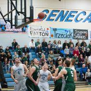 Varsity basketball stuns Pine-Richland