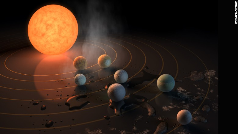 At Least Seven New Planets Found Around Nearby Star All Resemble Earth