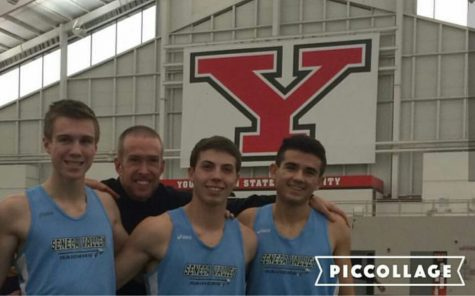 Seneca's Men's Indoor Track 4×800 Team Caps Off Season With Visit to States