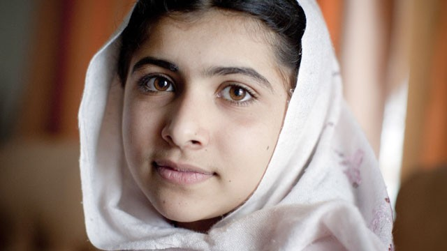 Malala Yousufzai, 12, is seen at her home in the Swat Valley, March 26, 2009, in Peshawar, Pakistan.