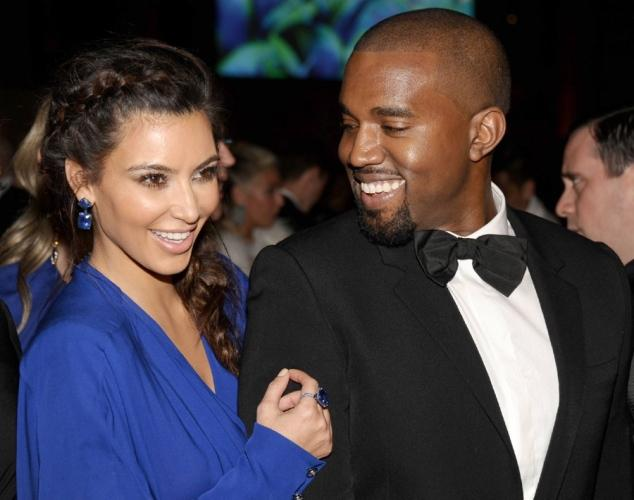 Kim+Kardashian%2C+Kanye+Expecting+Their+First+Child