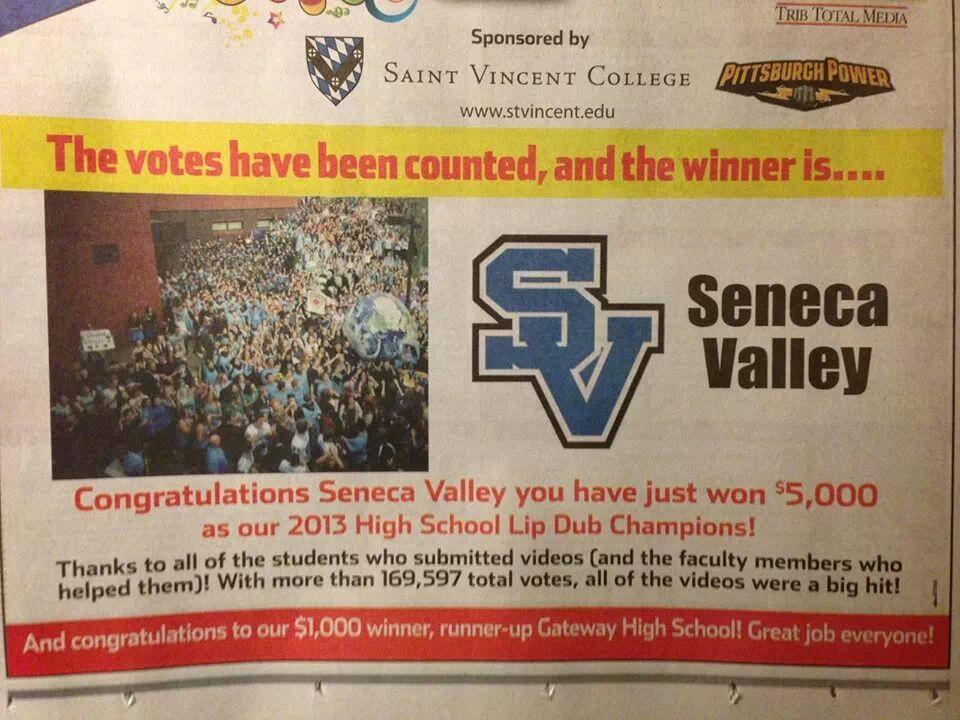 Trib+Total+Media%27s+Announcement+of+SV+winning+the+Lip+Dub+competition