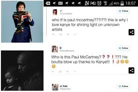 "Kanye ""Discovers"" Paul McCartney"