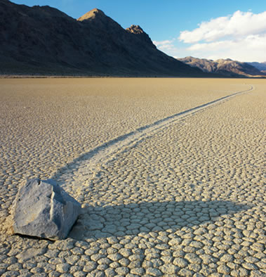 Mystery solved: Death Valley's moving stones