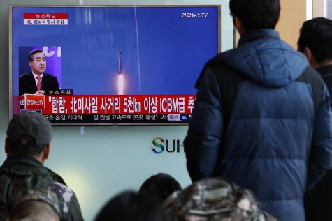 North Korea peace treaty talk rejected by U.S. after latest missile test