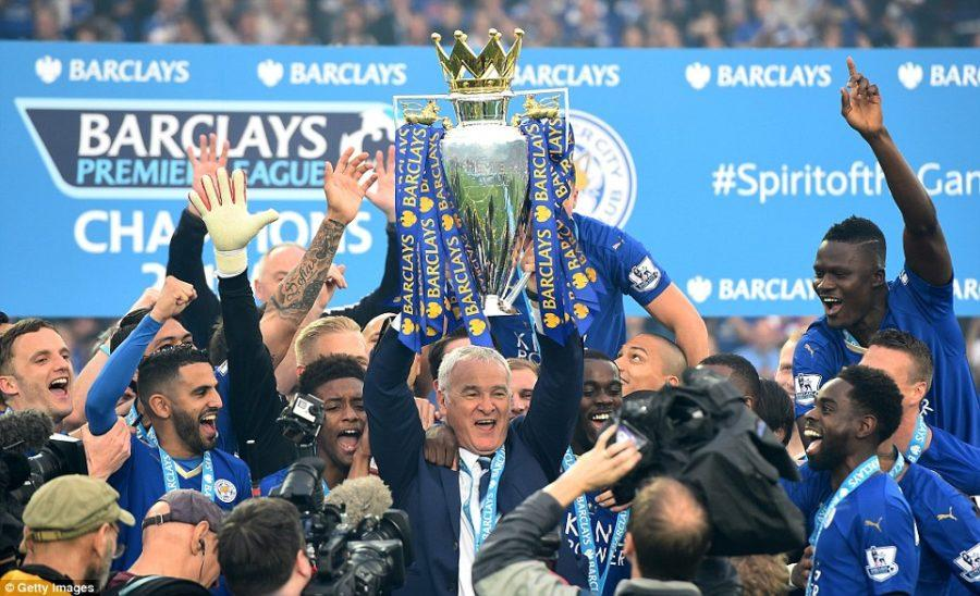 Leicester City, at 5000-1 odds, win title