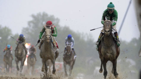 Exaggerator ends Nyquist's Triple Crown hopes