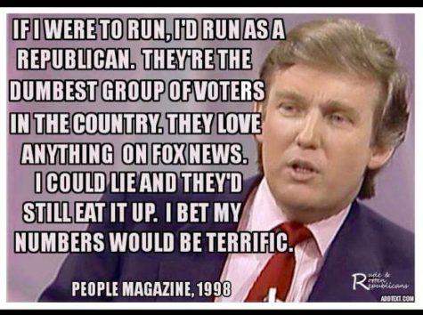 Look alive America, Trump is actually winning