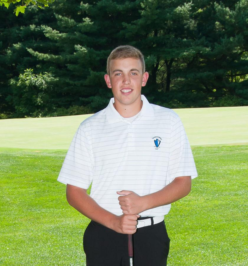 Matt Blazewick, SV golf team senior