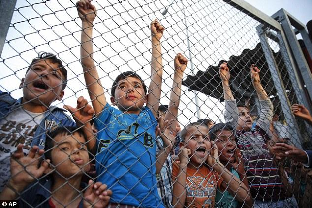 50 Million Children uprooted by conflict worldwide