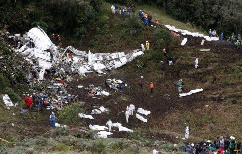 Plane transporting Brazilian soccer team crashes, killing 71
