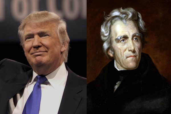 Men of the People: Andrew Jackson and Donald Trump